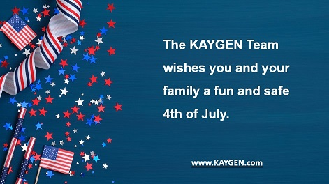In observance of the holiday KAYGEN will be closed on Friday, July 3. http://www.kaygen.com #technologyinnovation #datamangement #dataquality #digitaltransformtion #kaygenincpic.twitter.com/esfS4lR7jT
