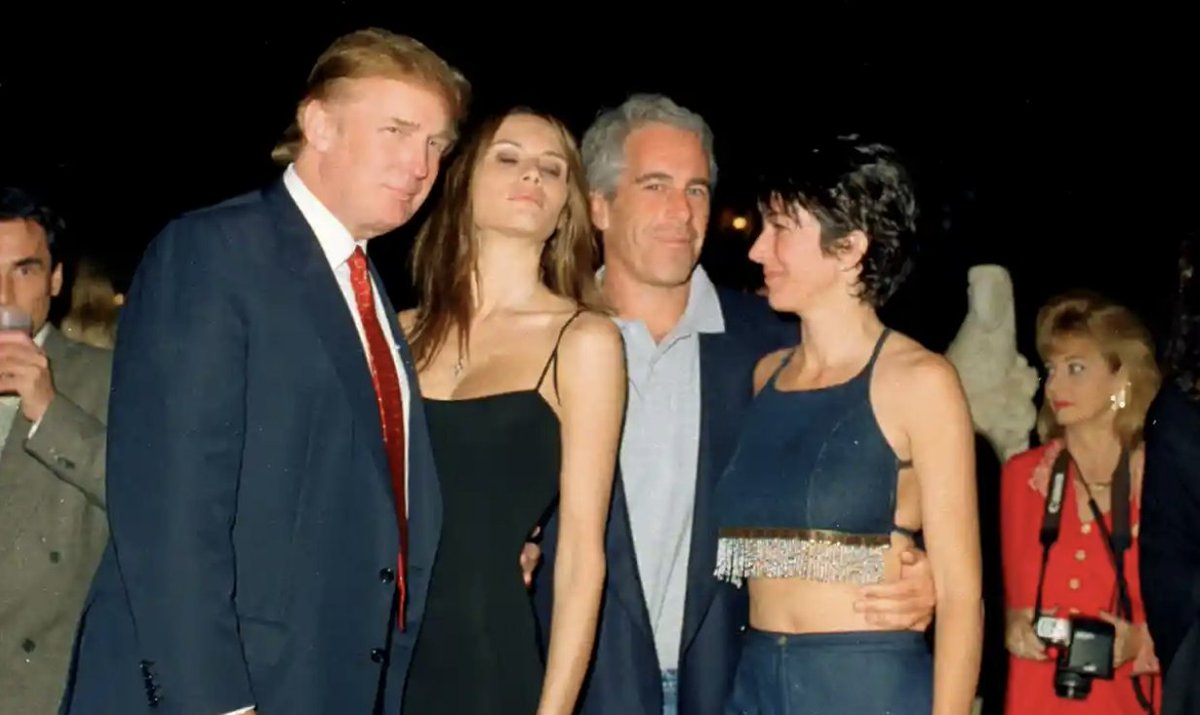 One of these women has protected a man whos been accused of sexual assault by 24 women. The other is Ghislaine Maxwell.