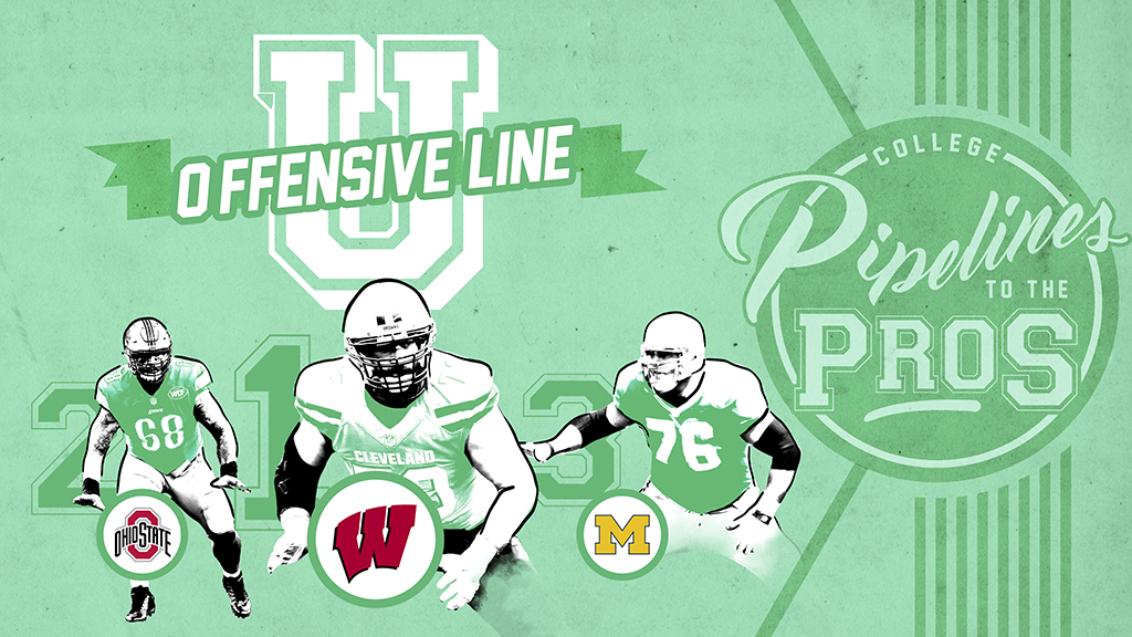 A 20-year domination by the Big Ten, but only one can own the title of #OLU. On, Wisconsin! nfl.com/nflpipelines