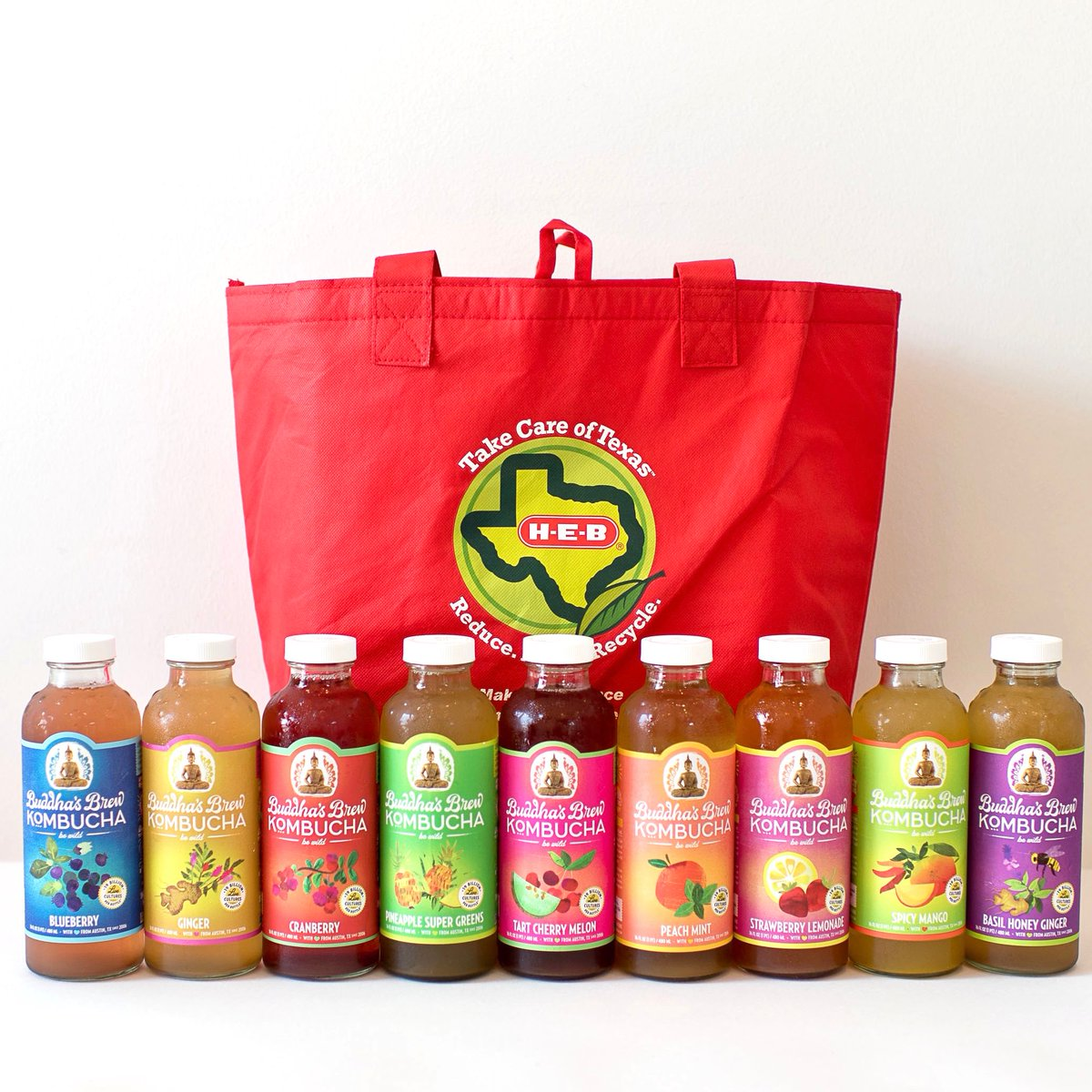 Texas strong! Here are all the flavors your favorite HEB will carry; ask them to carry your favorites if you don't see it in the case! We love you @HEB #HEB #ShopLocal #HEBATX #Kombucha #Groceries #LocalShopping #LocalLove #Austin #AustinFlavor #BestOf #HealthyLiving #ShopSafepic.twitter.com/mDOur1tpQT