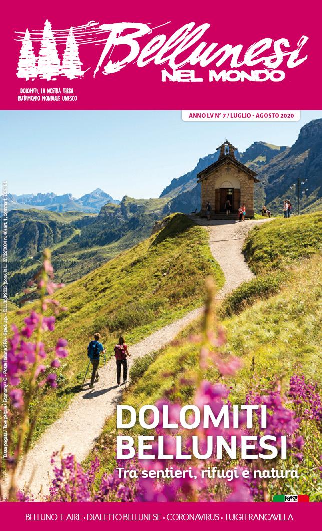 """48. È uscito il numero di luglio di """"Bellunesi ..."""