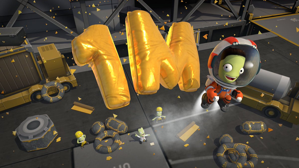 Today we want to congratulate our Reddit Community which has reached 1M members! Since 2011 they have inspired and educated countless Kerbonauts around the world. We have a couple of surprises for all of you, so stay tuned! Be part of the Community ✨🚀✨  r/KerbalSpaceProgram https://t.co/q7mkJaksPS
