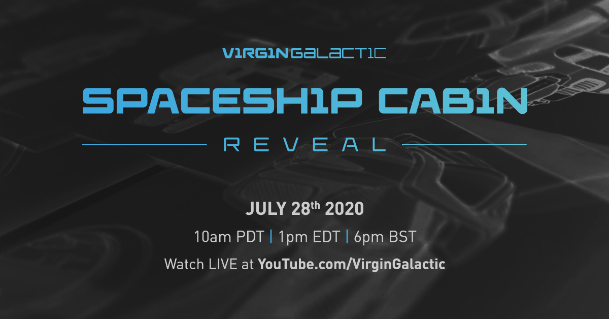 You're invited to join us on July 28th for a virtual event where we'll provide a first look inside the cabin of our spaceship. The design aims to elevate the experience of space for a new generation of private astronauts. Subscribe to watch, here virg.in/GX2