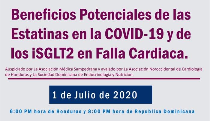 Especialista analiza los beneficios potenciales de las Estatinas en COVID-19 https://t.co/QpZh67Bgda #education  #COVID19 https://t.co/0TP1vqazJu