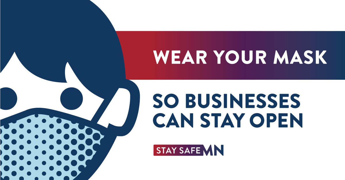 States across the country are seeing #COVID19 cases surge – the easiest thing we can all do to keep Minnesota safe and keep our economy open? Wear. A. Mask. #MaskUpMN #StaySafeMN https://t.co/8K8E66dqpH