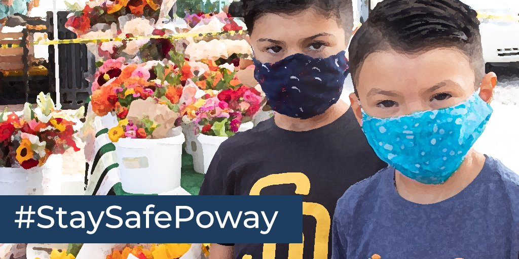 #StaySafePoway: Wearing a face covering when you are out in public is an easy way to help limit the spread of COVID-19 in @cityofpoway. Show us how you're doing your part to follow public health requirements for face coverings and you could be a winner!  https://t.co/cHKKEMMQaO https://t.co/eYUvXssjX6
