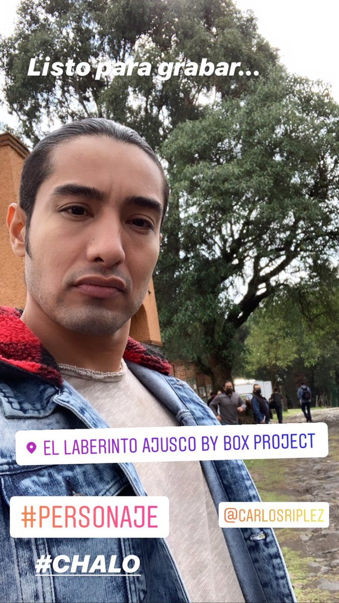 Listo para grabar #personaje #chalo #passion #actorslife #thursdayvibespic.twitter.com/tGwkX3WDvh