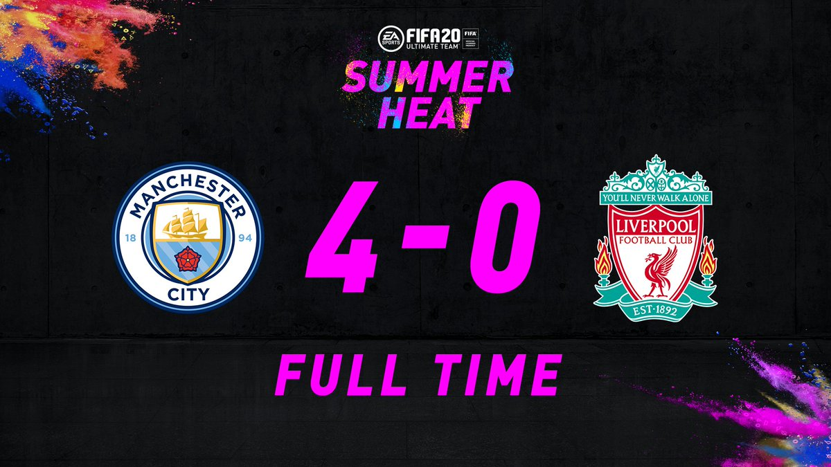 A clash of champions goes to @ManCity ‼️ Those who completed the 92 #SummerHeat☀️🔥 Phil Foden Squad Building Challenge will receive a future +3 OVR boost to the #FUT20 special item. Stay tuned for info on another Summer Showdown next week...