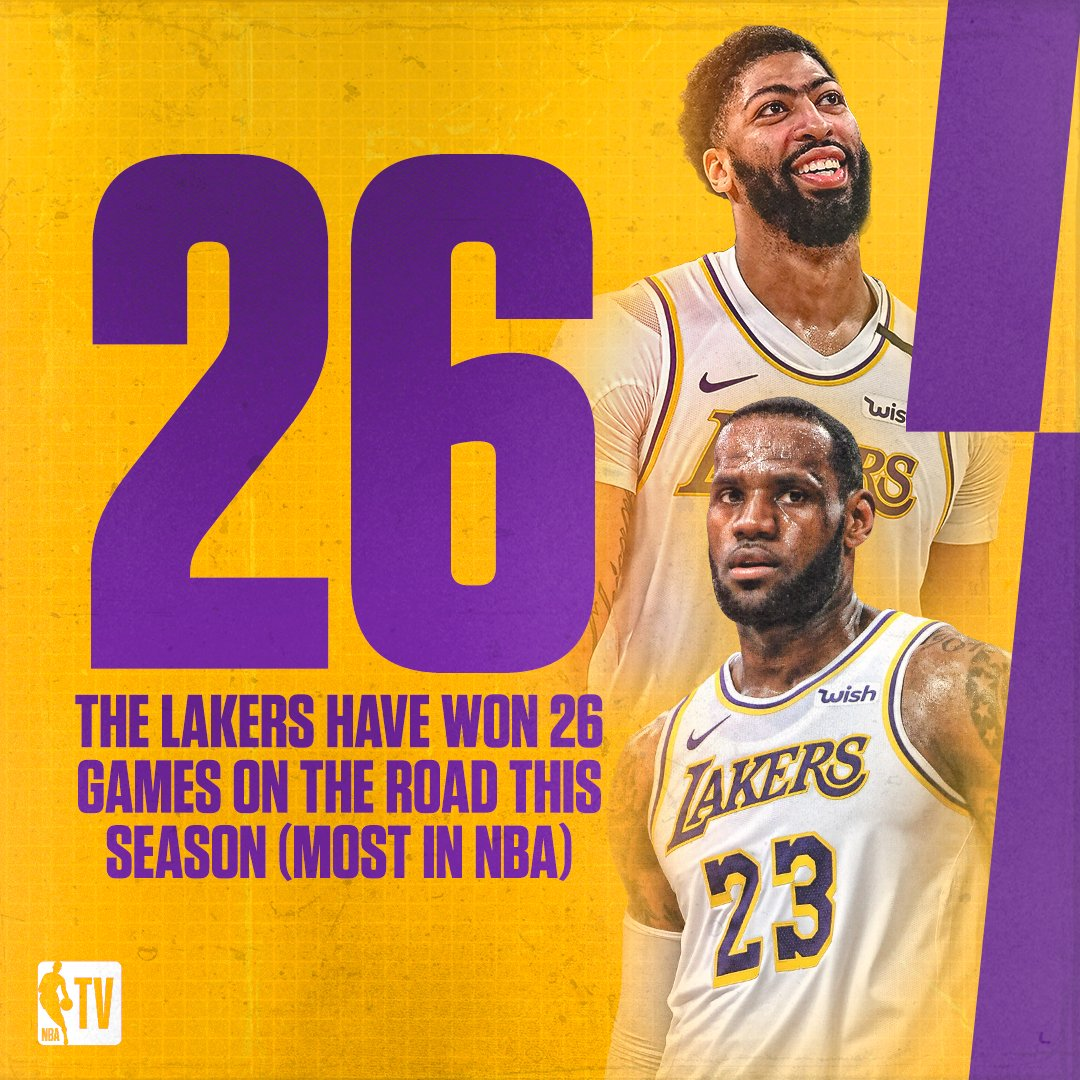 The @Lakers can put on a show anywhere 😤  26 days until tip | #WholeNewGame https://t.co/RLGb1mhBql
