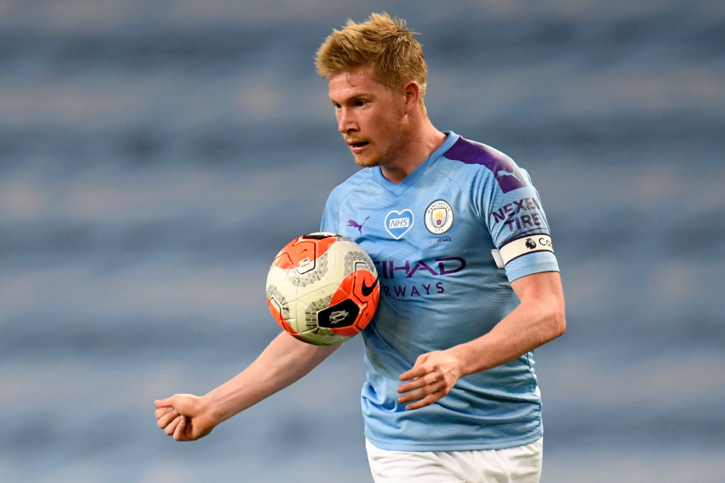 🥇 Man of the Match, @ManCity's Kevin De Bruyne 📌 Scored & assisted in same PL match for fifth time this season 📌 Most PL goal involvements this season – 28 (11 goals, 17 assists) 📌 4 shots, 1 on target 📌 5 chances created (most in game) https://t.co/qYDSABFdFS