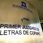 Image for the Tweet beginning: 1º Juzgado de Letras de