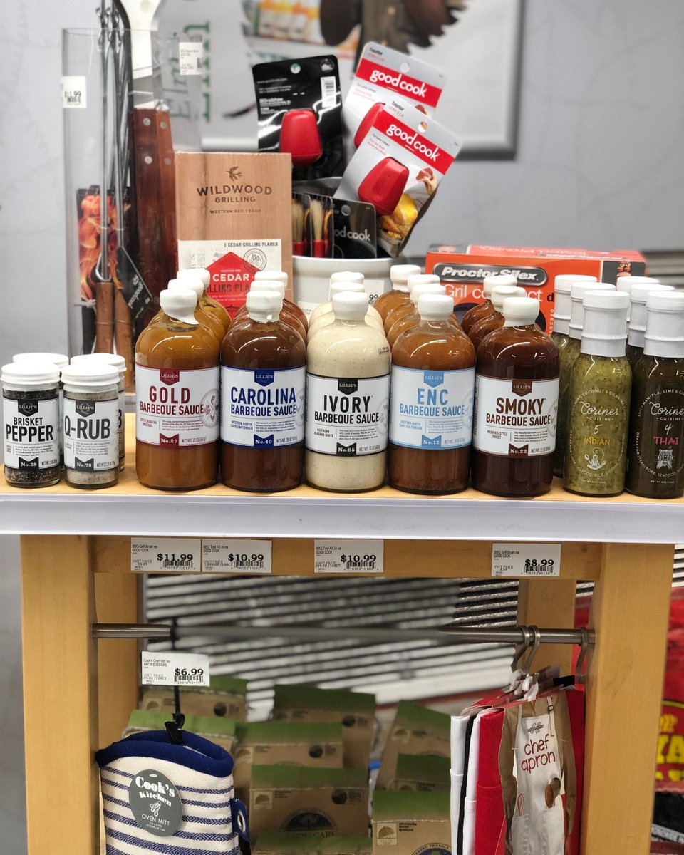 Backyard BBQ anyone? Get ready for the weekend + pickup Lillies Q barbecue sauce at the market. Perfect for grill foods or dipping sauce.