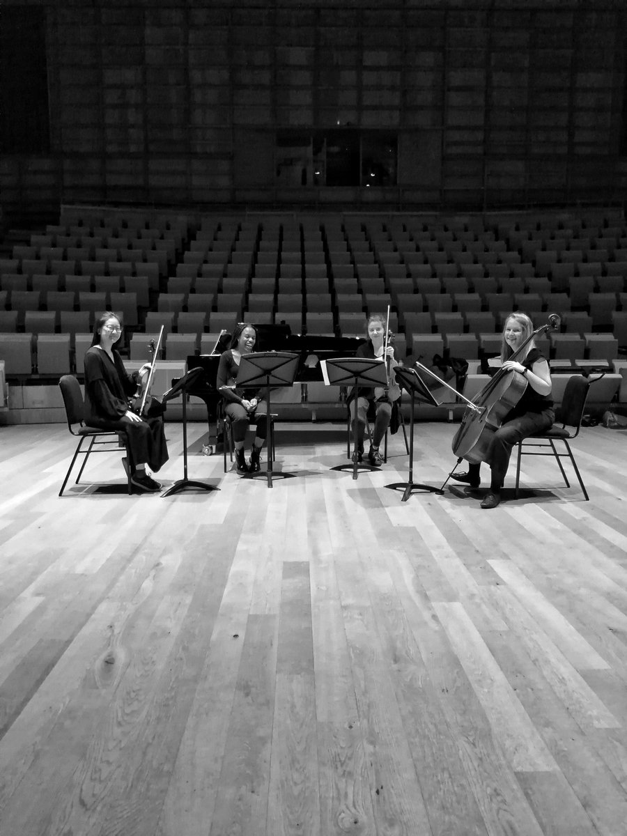 The last performance I gave was to an empty concert hall as part of a piano quintet playing music by @OlafurArnalds before we closed the doors and went into #lockdown. It felt as though music was passing into an eternal silence as we finished. #LetTheMusicPlay #ArtsEmergencyUK<br>http://pic.twitter.com/nRr8ssULUO