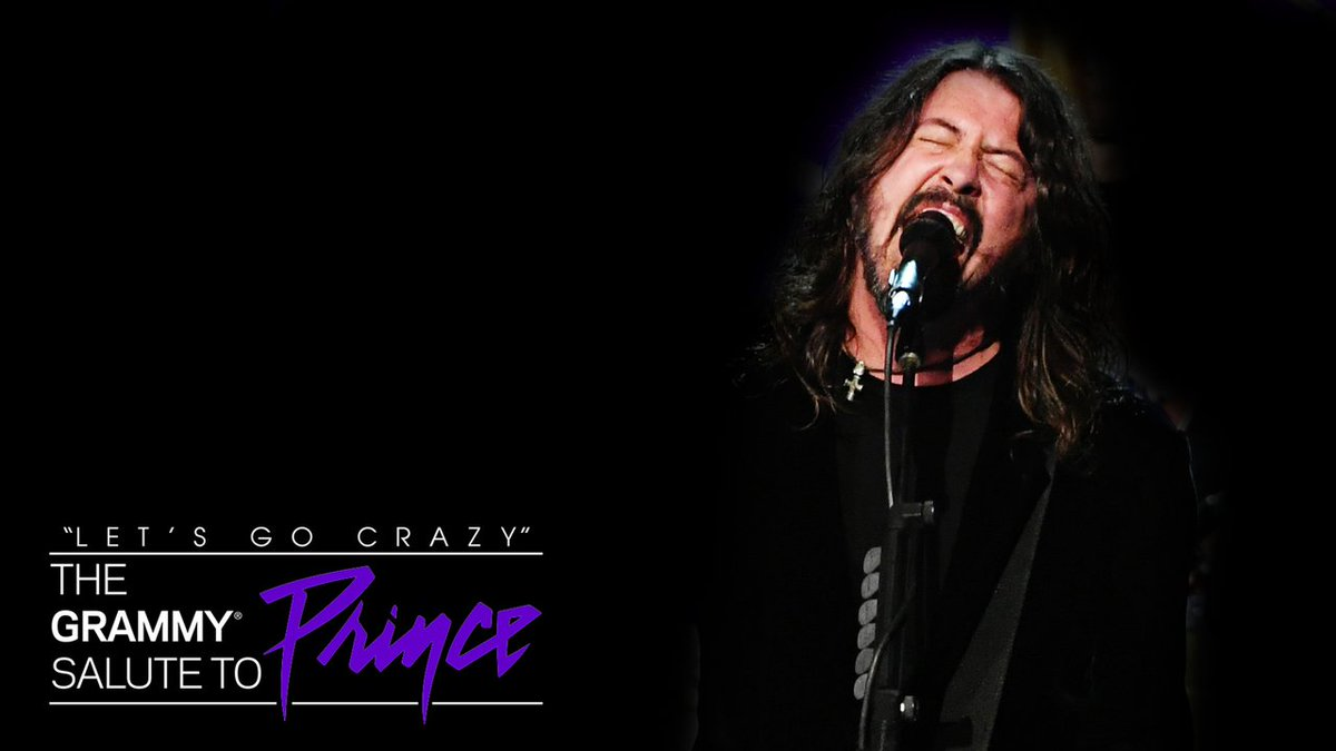.@foofighters - Darling Nikki    Let's Go Crazy: A Grammy Salute to #Prince   https://t.co/GVI7FoDoZK https://t.co/OGfeyC78DK