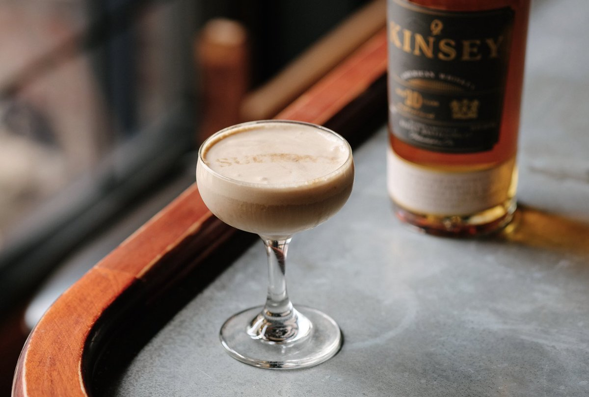 """Try our #Kinsey American over at New Liberty neighbors @Suttonsphila in their """"Kinsey Coolatta"""" cocktail — Kinsey American 10yr, Turkish Coffee, Simple Syrup, Bailey's Irish Cream and homemade whipped cream. 😍 Open Thurs 4-10pm and Fri-Sun 4-11pm. https://t.co/bX8fH7xvZA"""