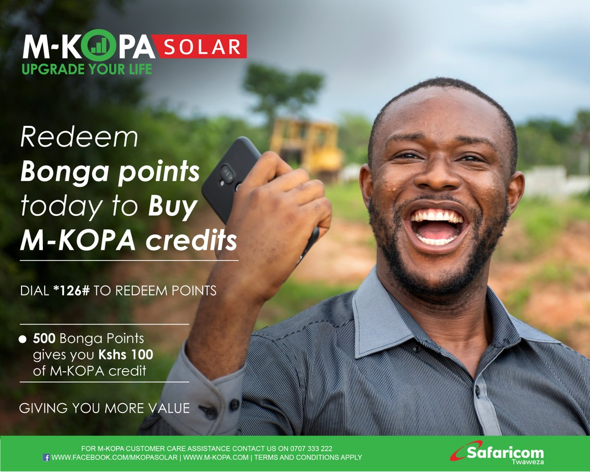 The future is uncertain but you don't have to worry about spending your emergency cash on lighting. Simply redeem your Bonga points to stay connected. Dial *126# today. See more here: https://t.co/Wrkp5ZOSJZ #UpgradingLives #StaySafe https://t.co/Op00TSpnfb