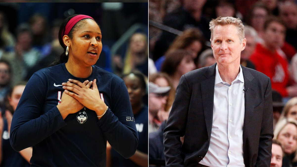 """Steve Kerr said it best about """"champion"""" Maya Moore after her help securing Jonathan Irons' release from prison yesterday 👏   https://t.co/83Z8Og91qf https://t.co/71mOmICmMc"""