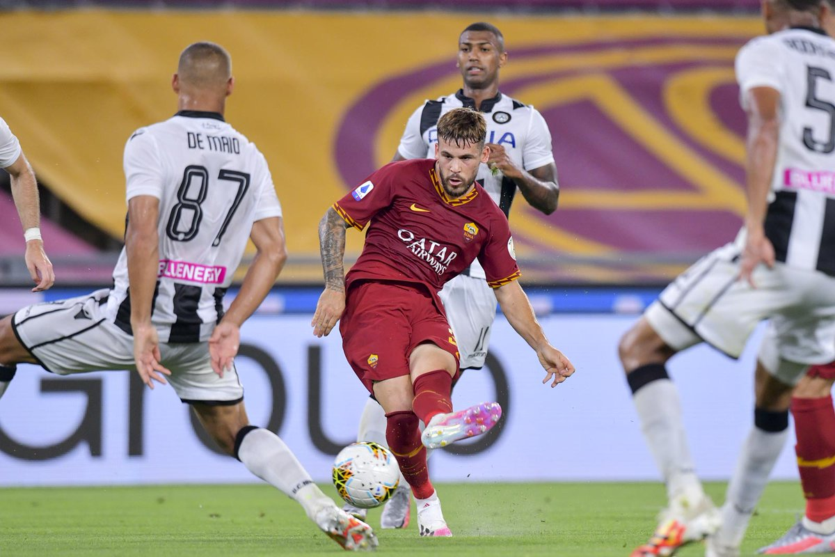Xem lại AS Roma vs Udinese, Serie A – 3/7/2020