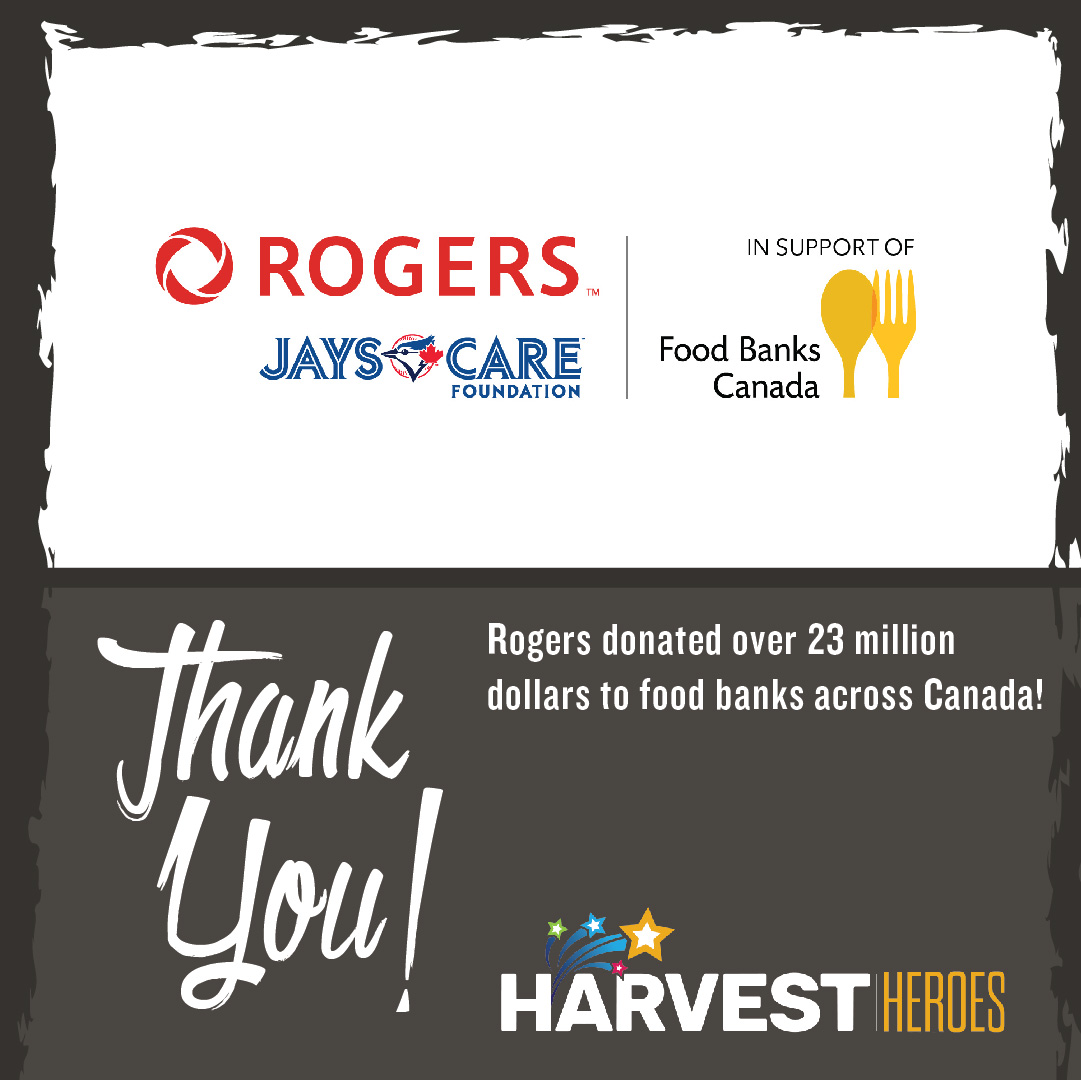 Thank you to the @Rogers Family for investing over 23 million dollars in support of @foodbankscanada - and Winnipeg Harvest's consistent efforts in the fight against hunger in Manitoba!  @rogerscommunications #stepuptotheplate #ThankfulThursday https://t.co/lUtShQasjN