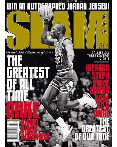THE GOAT! What's your favorite SLAM Jordan Mag? Cop here: slam.ly/vol6-breds