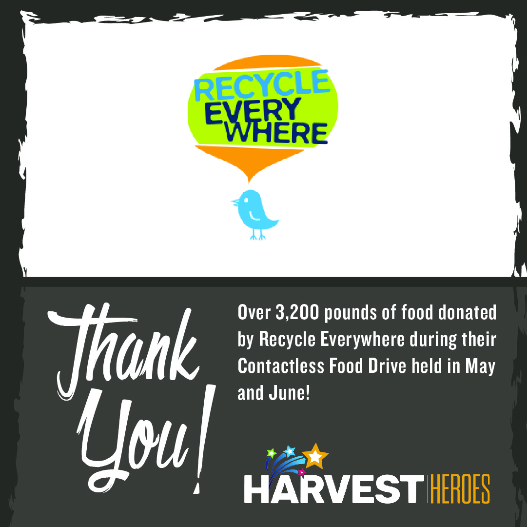 Thank you to @recycleMB for collecting over 3,200 pounds of food from their Contactless Food Drive held in May and June.   #ThankfulThursday https://t.co/HPiNh9WhU9