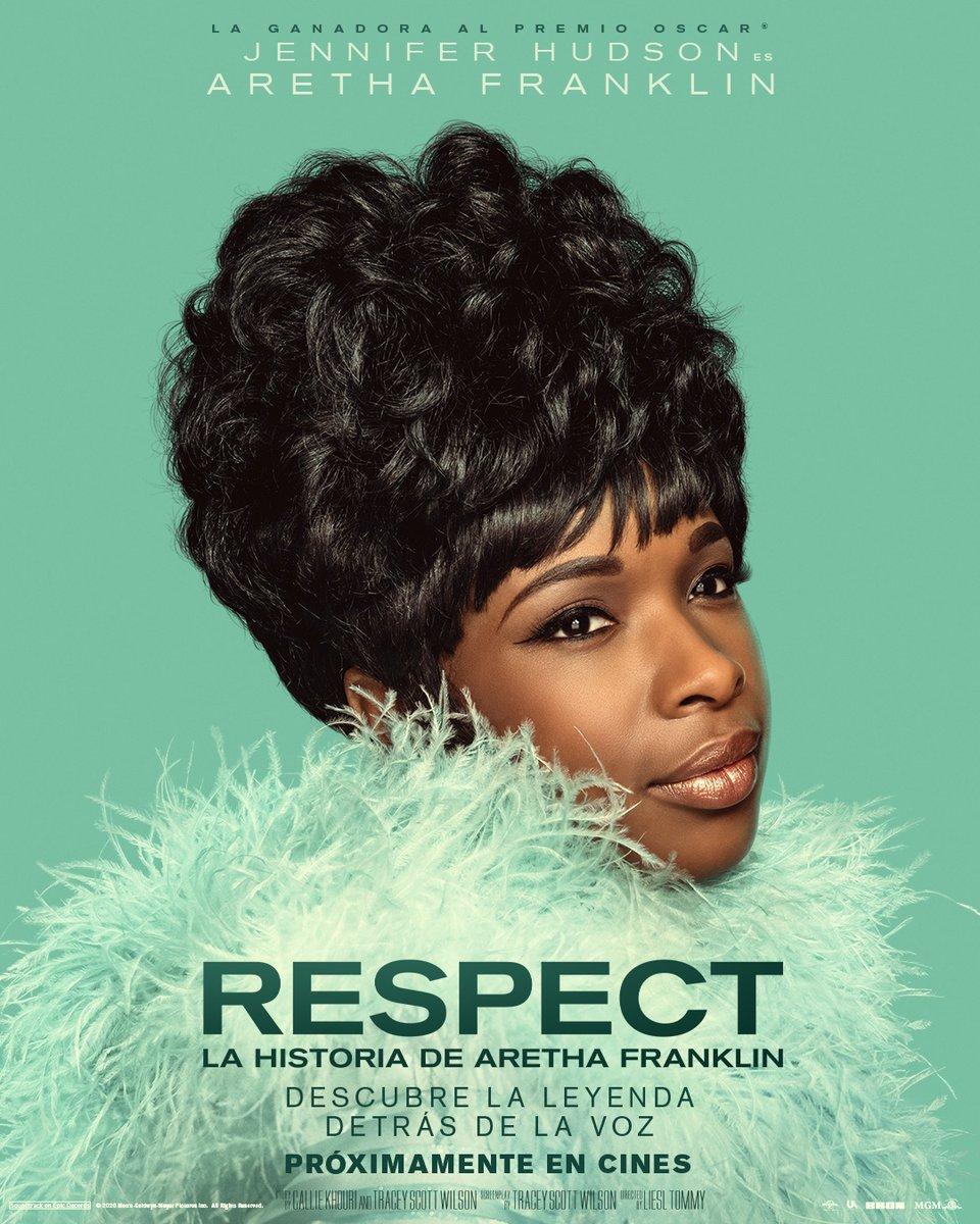 Cantante. Activista. La Reina del Soul. Jennifer Hudson es Aretha Franklin. ¡Sube el volumen y descubre el significado de #RESPECTLaPelicula! Mira el tráiler aquí: https://t.co/4c58irIwzW . 28 de enero sólo en cines. https://t.co/F2BL0eYiS9