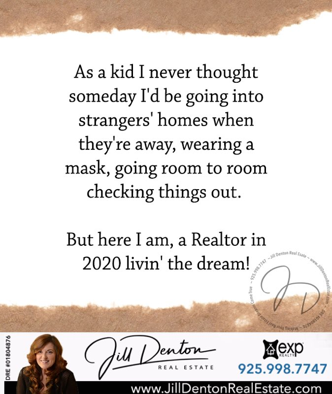 Who wants to go house hunting with me?  #jilldenton  #realtor #realestateagent #DRE01804876  #californiarealestate #bayarearealestate  #exprealty  #danvillerealestate #sanramonrealestate #livermorerealestate #pleasantonrealestate #trivalleyrealestatepic.twitter.com/A3TaJ5OhfA