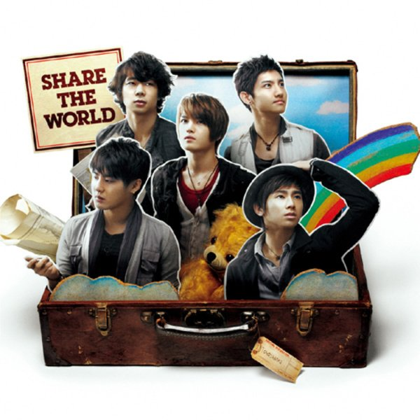#NowPlaying 東方神起 - Share The World pic.twitter.com/wuYNtQ5R1a