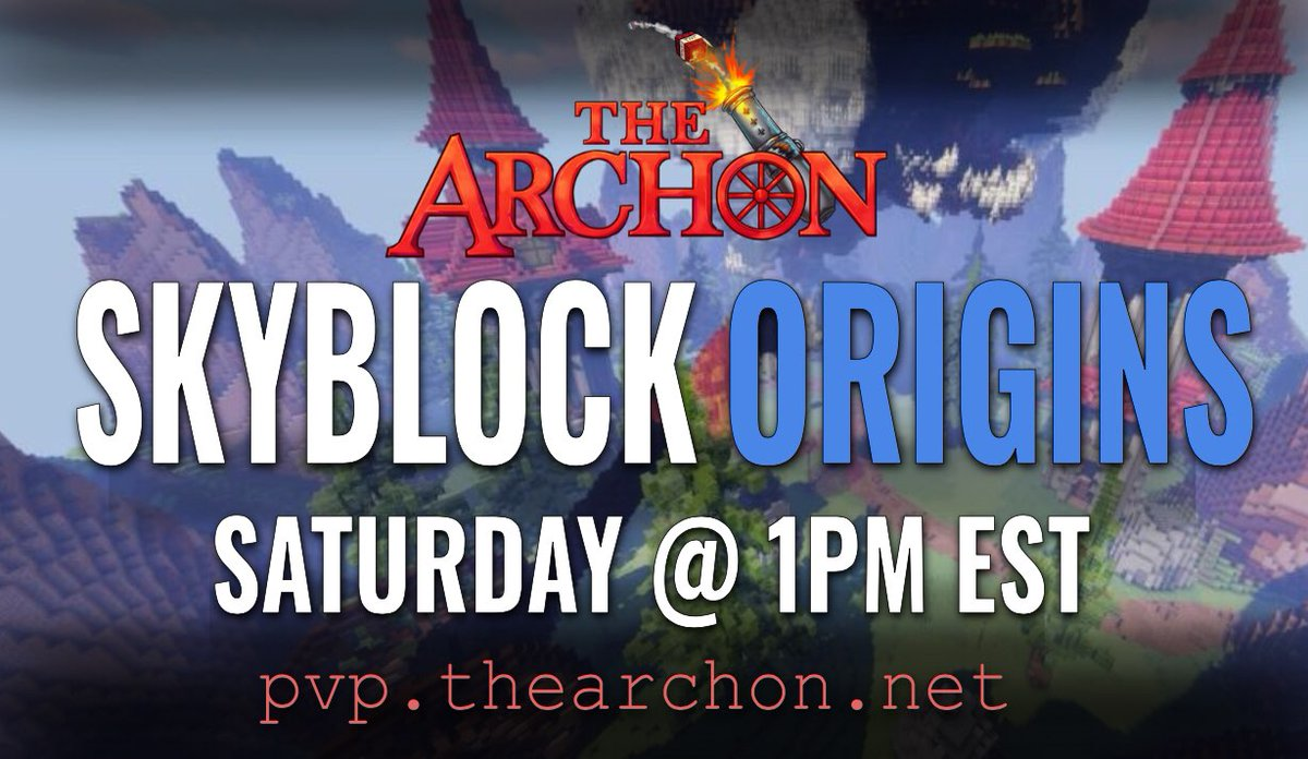 The next map of Skyblock ORIGINS will be here soon! 🤩  The new season starts this Saturday @ 1:00 PM EST 🕐  ‼️Follow & Retweet for a chance to win Diamond Rank ($250)‼️  🔗https://t.co/vDQiIBlz4o  🔗https://t.co/FcVIuD5FFm   🔗https://t.co/tFsBwha1xY https://t.co/nf0WVkYmIy