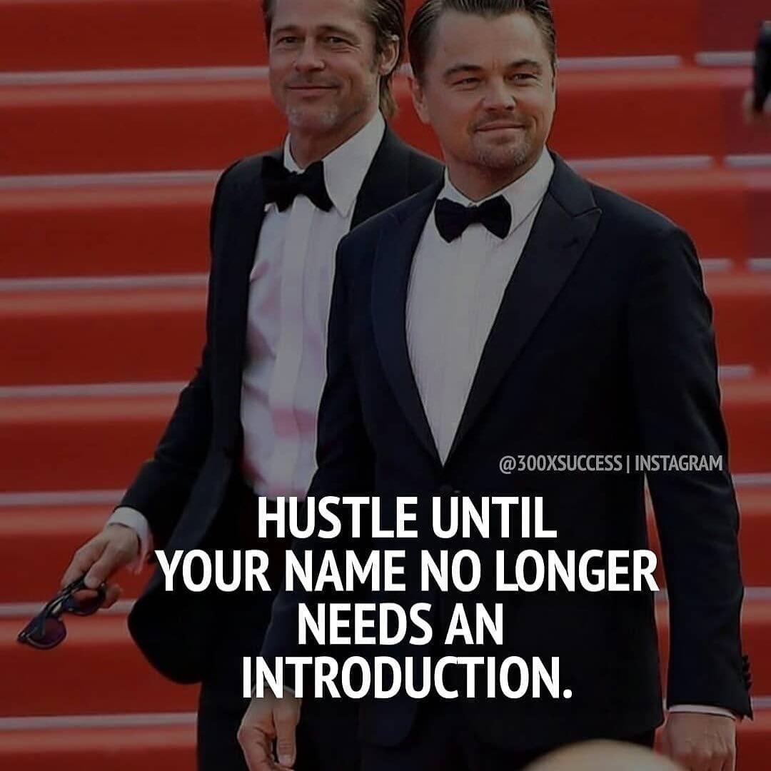 Hustle.  #anjalirajgopal #identityadvocate #anjalirajgopalofficial #leonardodicaprio #bradpitt #entrepreneurquotes #millionairemindset #businesslife #lifequotes #entrepreneurmotivation #successquotes #buildyourempire #quotesdaily #quotestagram #inspirationalquotes #lifelessonspic.twitter.com/m3fsSd2w6S