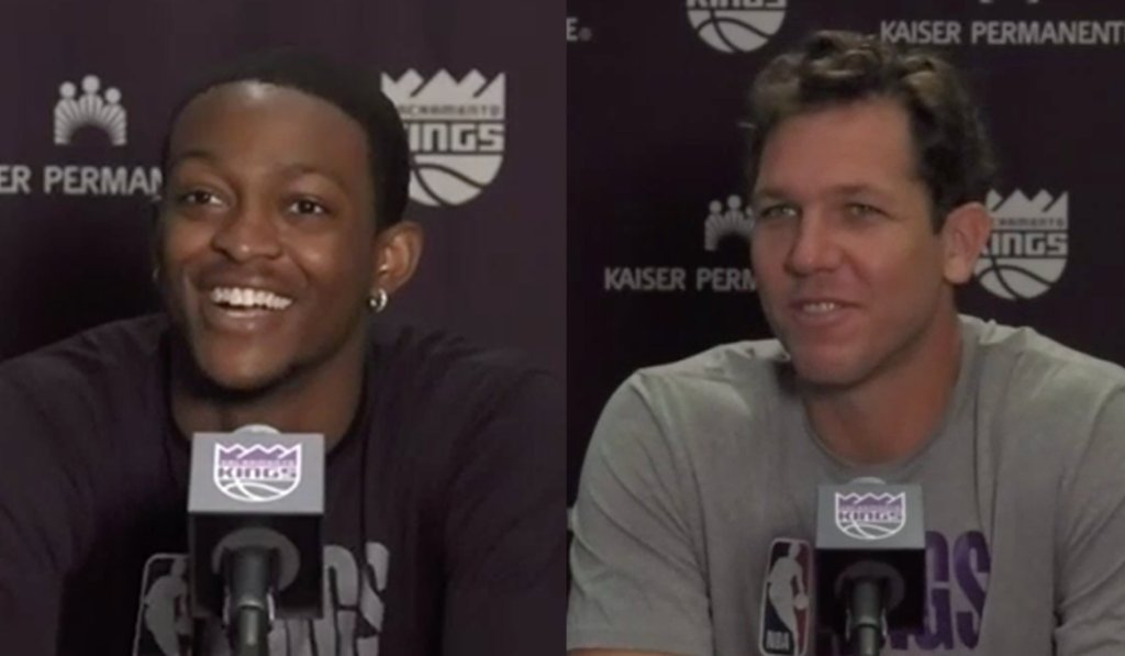 Missed Swipa and Coach Luke Walton's FIRST presser since March? 👀  We got you with the top Q+A's 📝 » https://t.co/4O90jp6B0m https://t.co/oesm6WnKVi