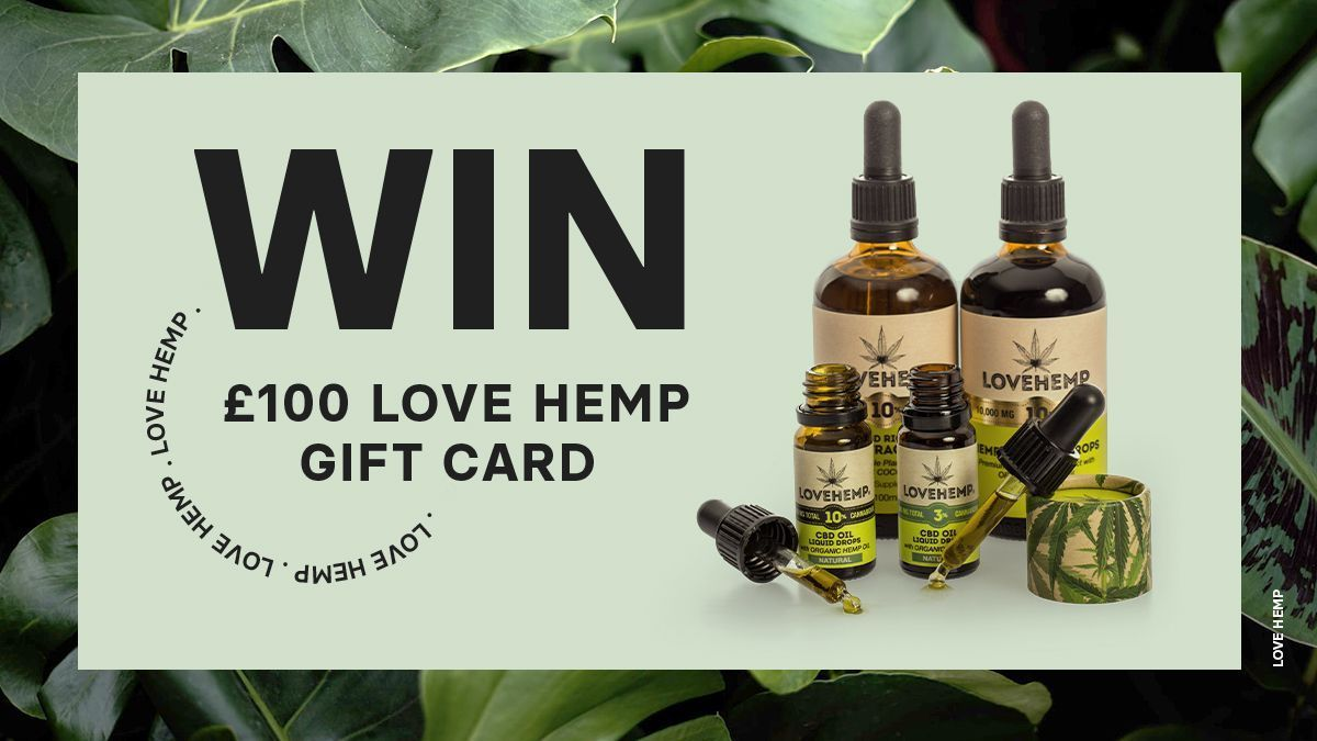 Do you love #CBD? Share your thoughts by taking part in a short survey to be in with a chance of winning a £100 Love Hemp gift card! T&Cs can be found on our website. Take the survey here: https://t.co/VfgJO9TN6L https://t.co/KCKRAaYzxU