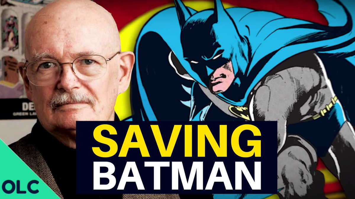 NEW VIDEO ▶ Denny O'Neil - The Writer Who Saved Batman youtube.com/watch?v=xpt1Xd…