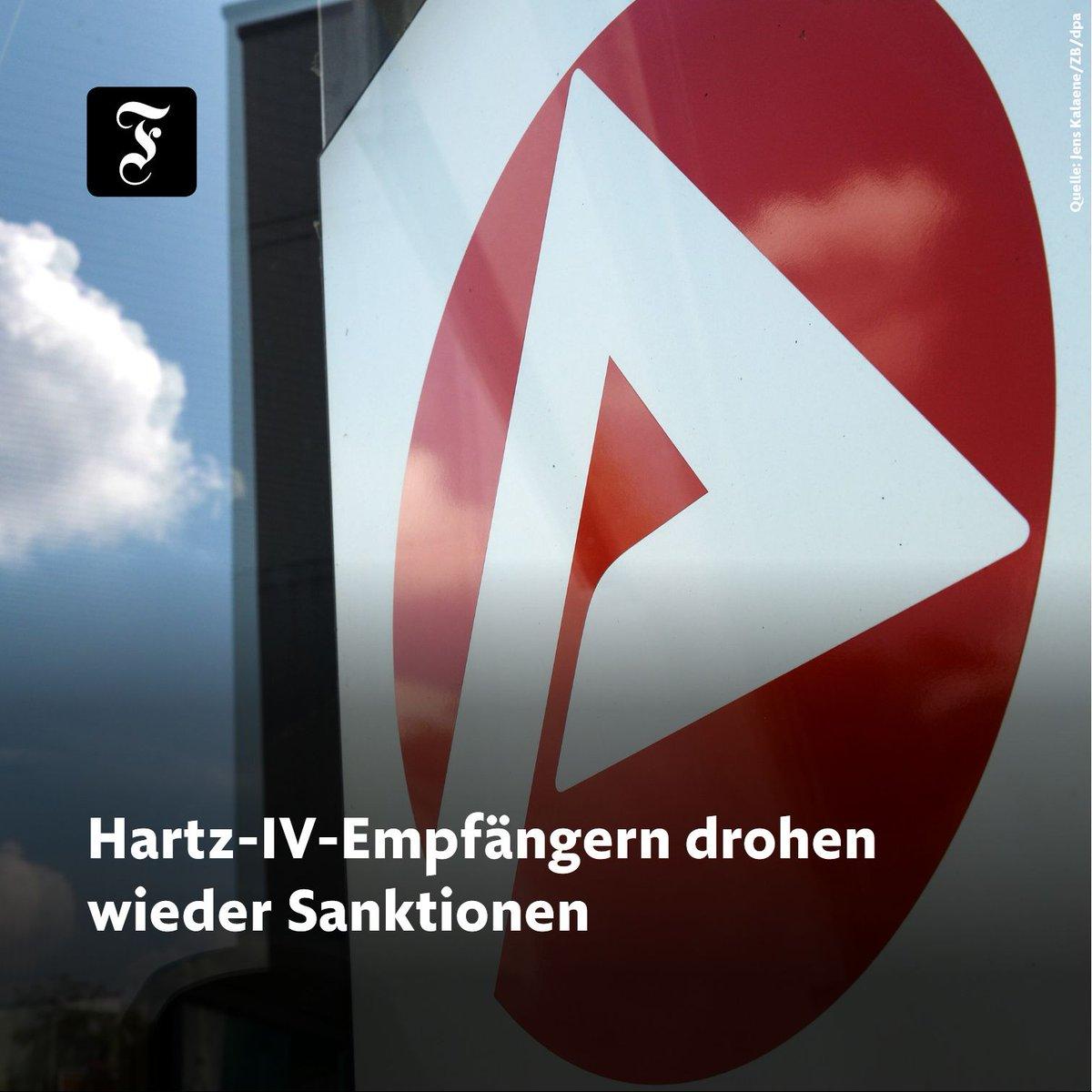 Die Sanktionen waren wegen der #CoronaKrise ausgesetzt worden. Nun sind die Jobcenter wieder für den Publikumsverkehr geöffnet. buff.ly/2VHnoGb