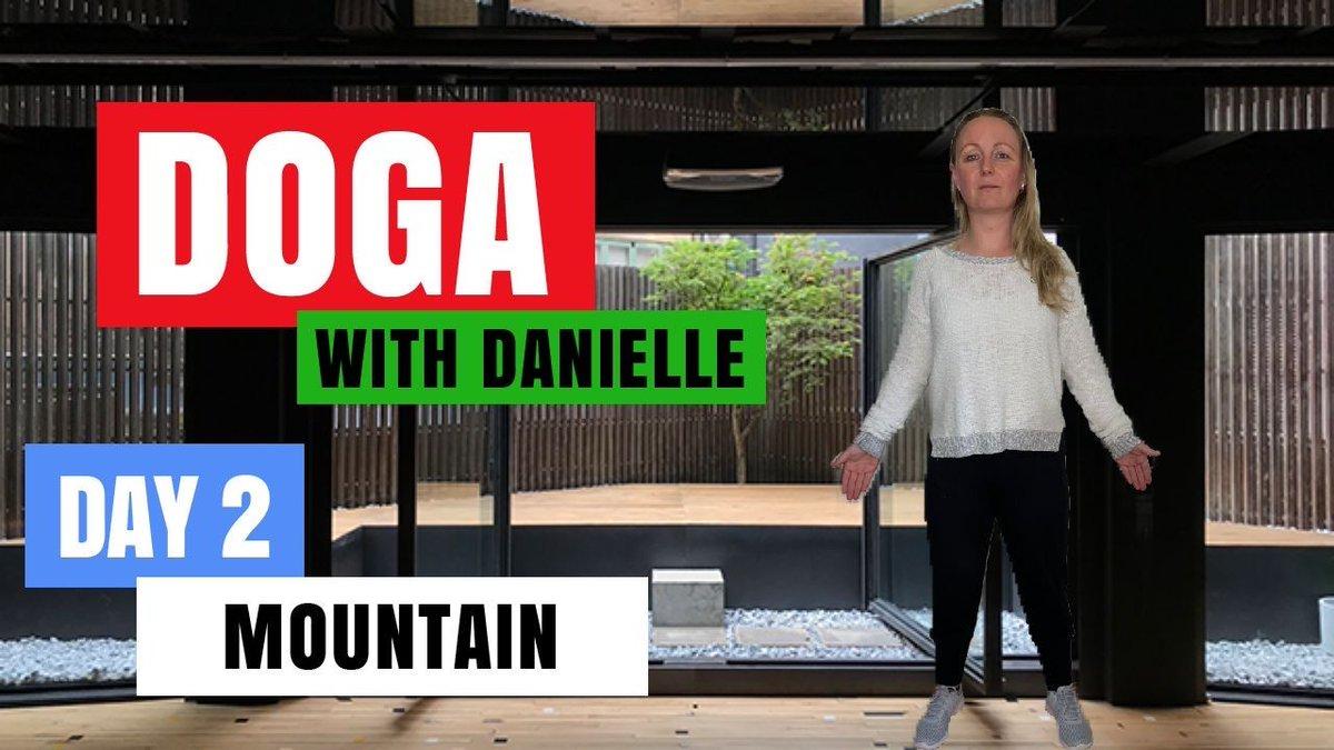 Day 2 - Mountain • #DogaWithDanielle   #ChildOfGod #ChildOfGodTeam #ChildOfGodMovement #Doga #Yoga #Movement #Health #Fitness #Malshi #Shitsu #Maltese #Dog #DogLover #LucyTheMaltese #MentalHealth #Spirituality #Recovery #ComeTogether #ChangingOurWorld  https://t.co/9qDJVTXpYP https://t.co/fOzSITLc1a
