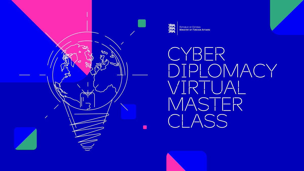 At Virtual Master Class for Cyber Diplomacy we discussed  today how norms and international law apply in cyberspace and how to build cyber capacity. Great thanks to @james_a_lewis @cattalkscyber @KuboMacak @C_Painter @siim_alatalu @tammeto  Watch again https://t.co/uSYI4kpfbS https://t.co/y6ks6WwSAV
