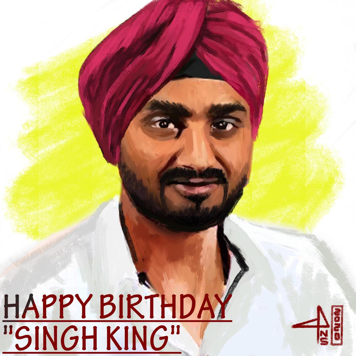 Big brother, Well Wisher and a True Inspiration. To me, you are all these things and more @harbhajan_singh Paji  You are such an amazing Human and You are the most Humblest human being I ever known and the one I most admire!  Happy birthday, dear Anna! #Bhajji Paji