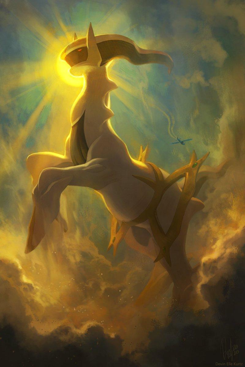 Sinnoh Titans in their sky domain ⚡ https://t.co/Ce8EZoLYR0