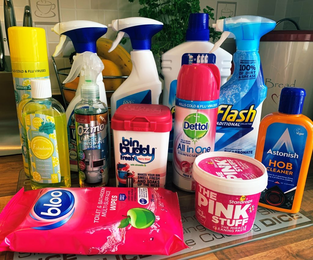 This weeks cleaning products haul from B&M Bargains.... they always have such a fab selection of products! #love #home #clean #sparkle #shine #hincharmy pic.twitter.com/ROvE1ukZWf