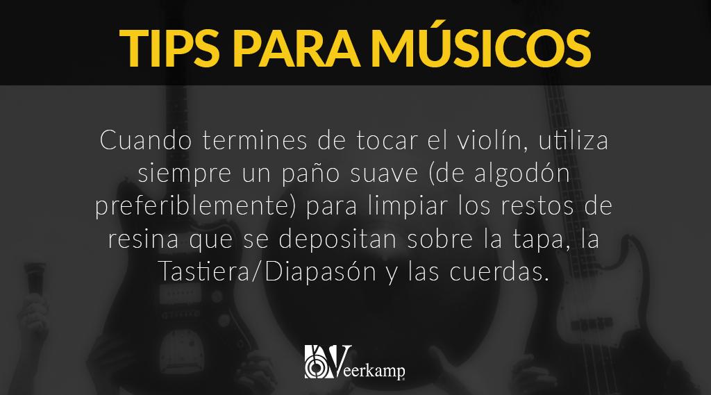 #TipsParaMúsicos 🎶  Es muy sencillo cuidar de nuestro violín. 🎻 https://t.co/u8Q62HoiHi