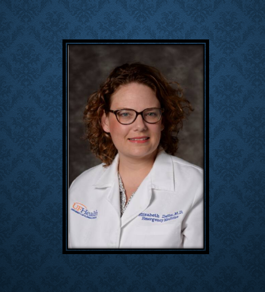 "Congratulations to Dr. Elizabeth Devos on her acquisition of the ""Order of the International Federation of Emergency Medicine award (FIFEM)."" The award is given to those who have shown exceptional dedication to the IFEM and Medical Education.   #ThankfulThursday <br>http://pic.twitter.com/USacHuuc7i"