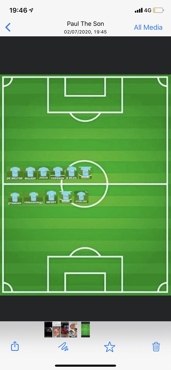 I like man city's formation for tonight's game folks👍 https://t.co/r9D9YIrlTh