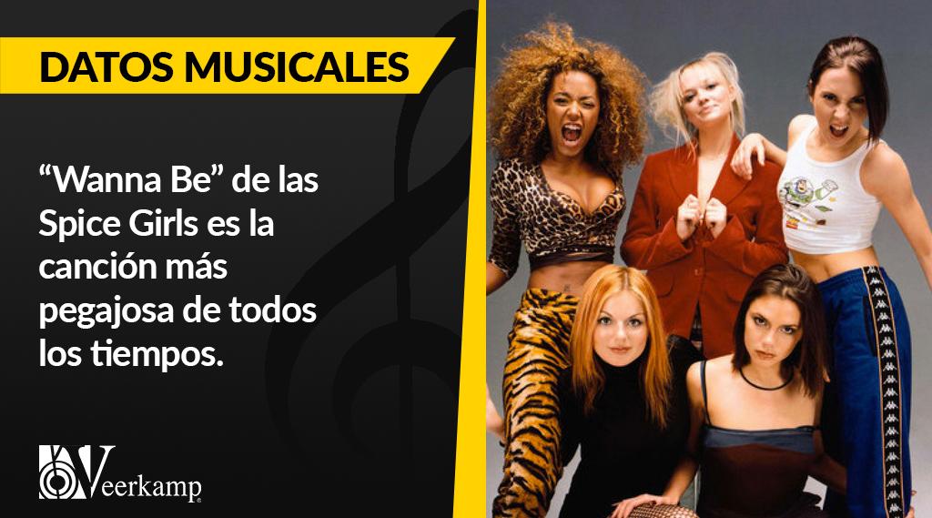 #DatosMusicales 🎶  Todos hemos cantado con las @spicegirls por lo menos una vez en la vida. 🎤🎉 https://t.co/EMgVpetabd