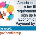 Image for the Tweet beginning: Haven't received your stimulus check?