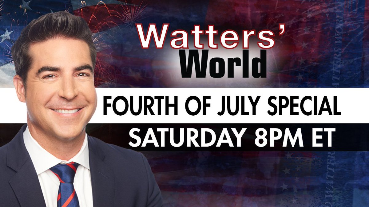 TOMORROW: America celebrates it's 244th birthday. Watters' World will have a Fourth of July Special with never before seen interviews that you won't want to miss. Tune in Saturday to #FoxNews 8PM ET. https://t.co/7XN6rSvaoL