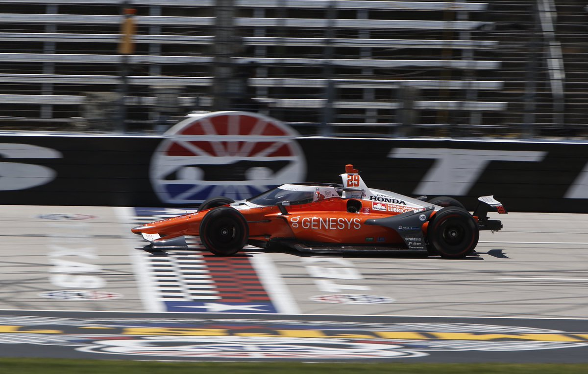  FINALLY back at it with the @Genesys crew tomorrow.  And at @IMS, not bad for my second date with Genevieve!  Can't wait to hit the track!  @FollowAndretti // @hondaracing_hpd // @indycar // #INDYCAR // #ChallengeAccepted // #RaceToTheCloud https://t.co/n4olwkvRHc