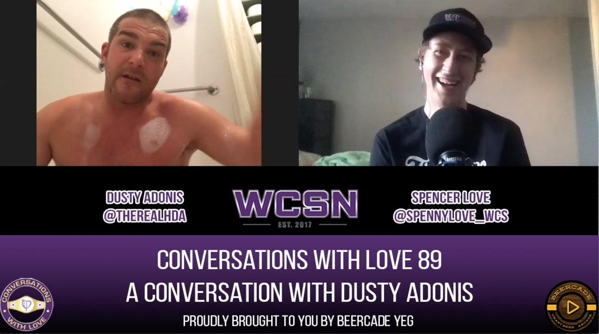 Yeah you've done interviews but have you done them in the bubble bath?   Tune in to my full chat with @Therealhda on your podcast player o' choice or head to the YouTube machine for the full bubbly experience! https://t.co/8w0aCWMx7H