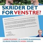 Image for the Tweet beginning: I Dansk Folkeparti spørger vi