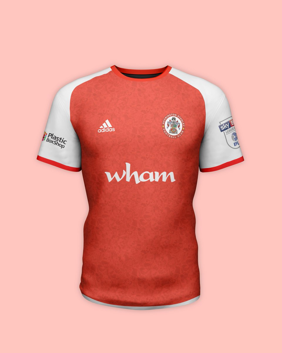 Accrington Stanley x Adidas  Home & Away Kit Concepts #ASFC #Stanley #KitConcept #Football #PhotoshopCamera   (Requested by @FMcKennaBRFC)* https://t.co/kScENmLzlJ