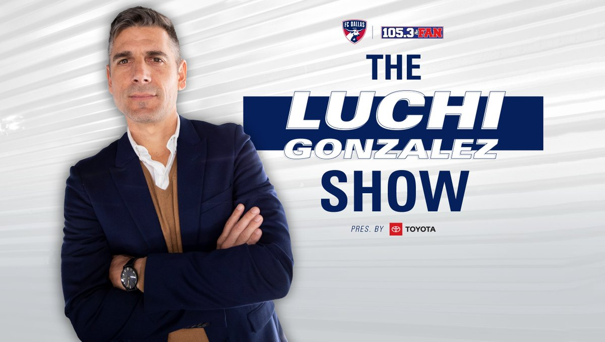 ICYMI earlier, you can still listen to the entirety of The Luchi Gonzalez Show presented by @Toyota on @1053thefan⬇️  🔗: https://t.co/E5lUHMOBSt https://t.co/Ymy838dK8w